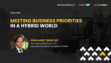 Meeting business priorities in a hybrid world