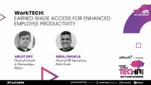 Earned Wage Access for engagement & productivity