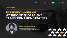Extreme ownership focus on strategizing talent transformation
