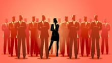 Women at corporate executive level moves up to 15%