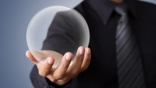 Crystal Ball Predictions: Couple Passes To Future of The Work Place!