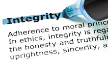 Integrity is Integral to the company