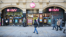 Hey tweeples, we at HMV are being fired