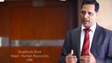Avadhesh Dixit, Head HR, CMC on Excellence