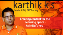 Creating content for the Learning Space