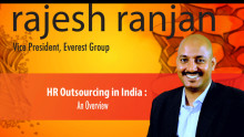 HR Outsourcing in India: An overview by Rajesh Ranjan