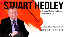 Global Trends in Recruitment by Stuart Hedley, CEB