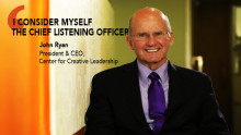 John Ryan, CEO at CCL on leadership learnings and managing polarities