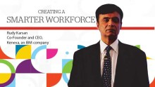 Creating a smarter workforce: Talk by Rudy Karsan, CEO, Kenexa
