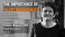 ACCA's Helen Brand on importance of talent management