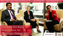 Creating the right atmosphere for employee engagement