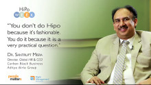 Don't do a HiPo program because it's fashionable: Santrupt Misra