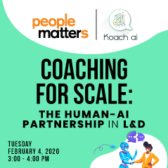 Coaching for scale: The Human-AI partnership in L&D
