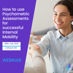 WEBINAR   How to use Psychometric Assessments for successful Internal Mobility