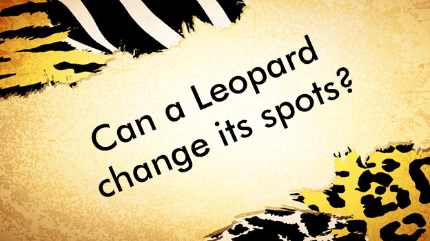 Article Can A Leopard Change Its Spots Asks Arun Rao