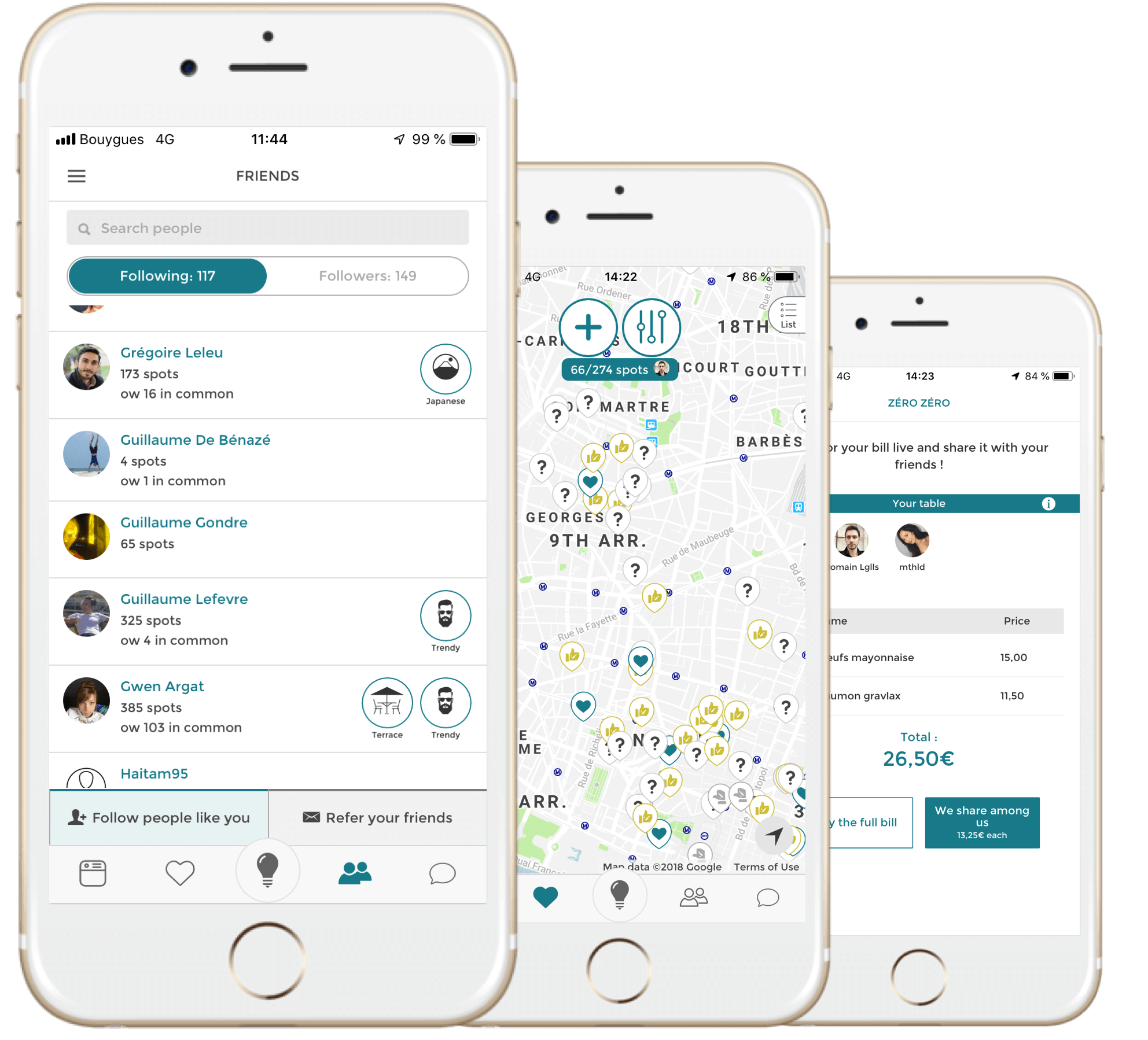 Screenshot App Pepeats