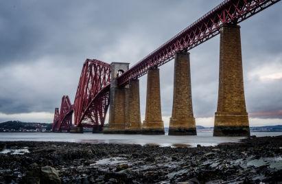 Forth Rail Bridge, Skottland