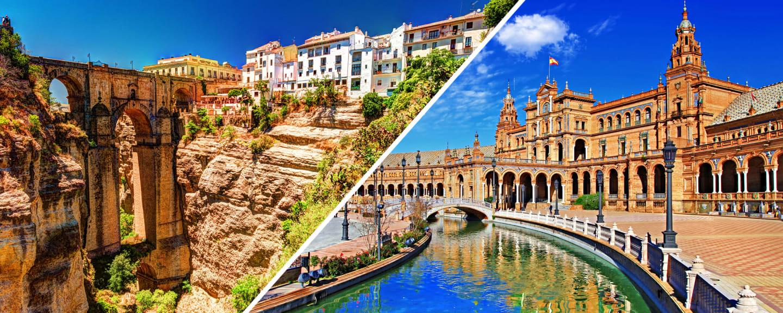 Voyage Europe - L'Andalousie au volant 4*