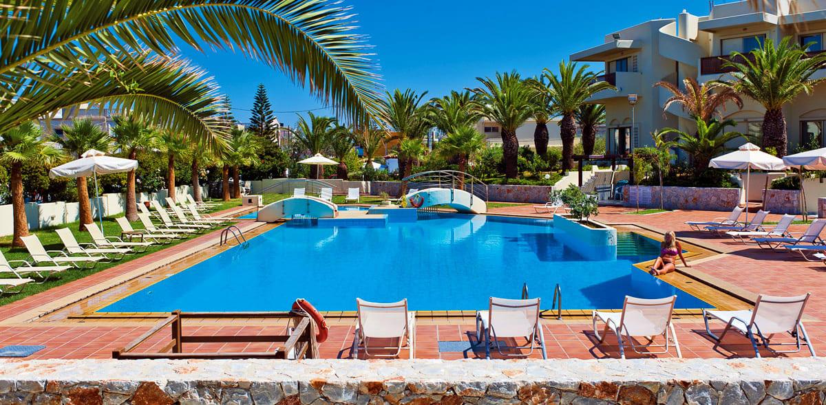 Séjour Grèce - Giannoulis Santa Marina Beach Hotel 4*