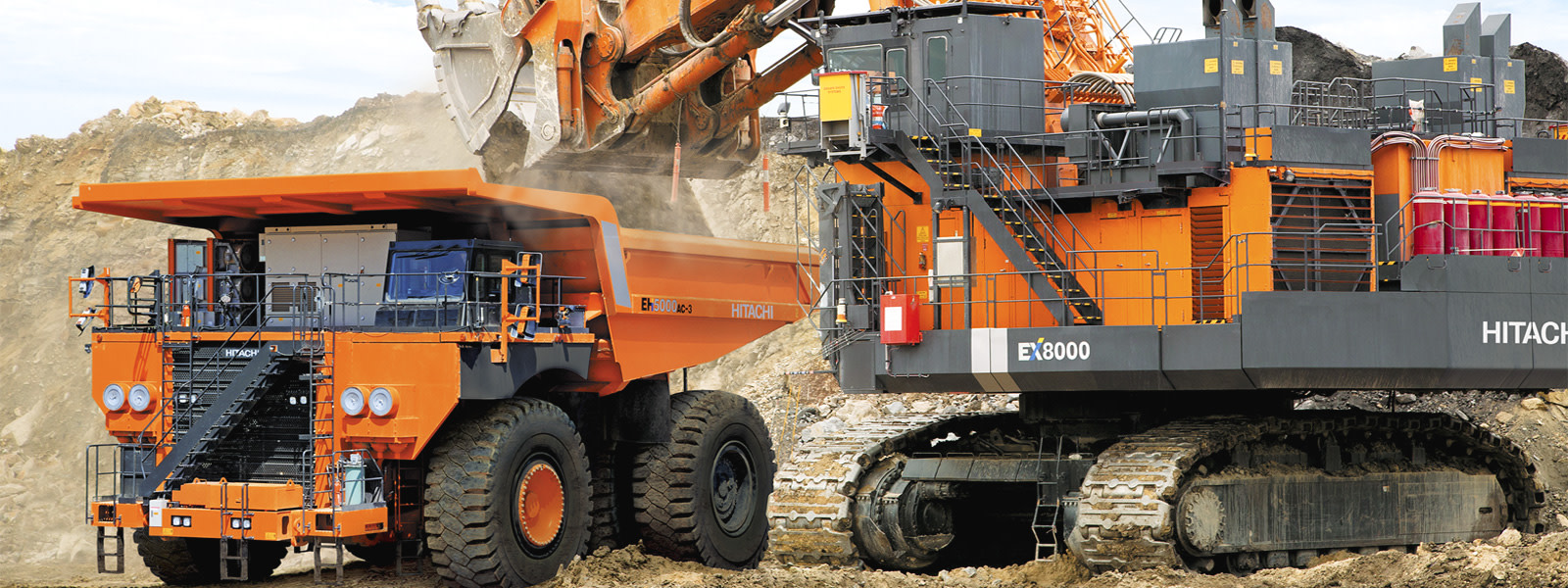 Hitachi Mining Excavators & Shovels