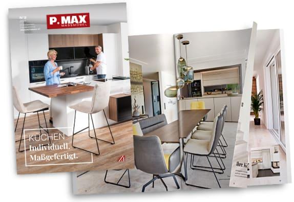 Der neue P.MAX Küchenkatalog