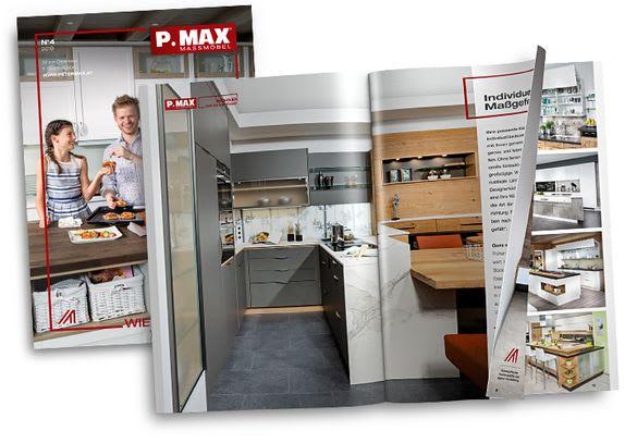 Das neue P.MAX Magazin