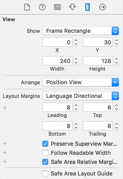 modify layout margin