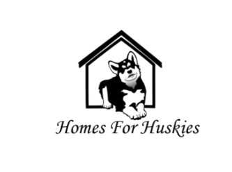 Large homes for huskies   logo