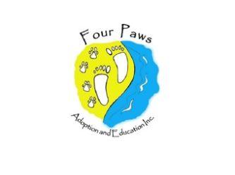 Large four paws logo
