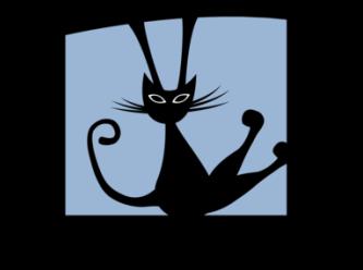 Large dandy cat rescue logo a colour