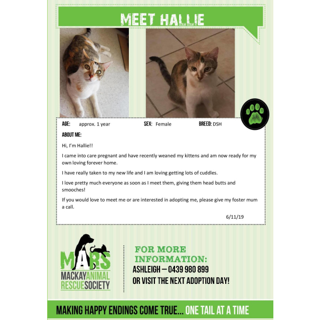 Photo of Hallie