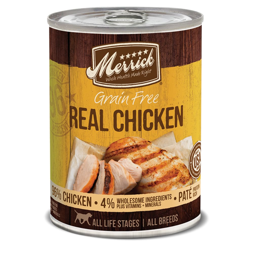 Merrick - 96% Real Chicken Grain-Free Canned Dog Food