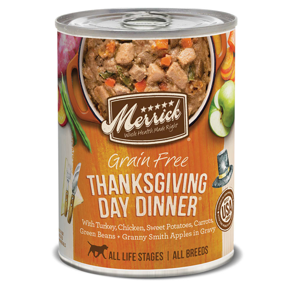 Merrick - Thanksgiving Day Dinner Classic Recipe Grain-Free Canned Dog Food
