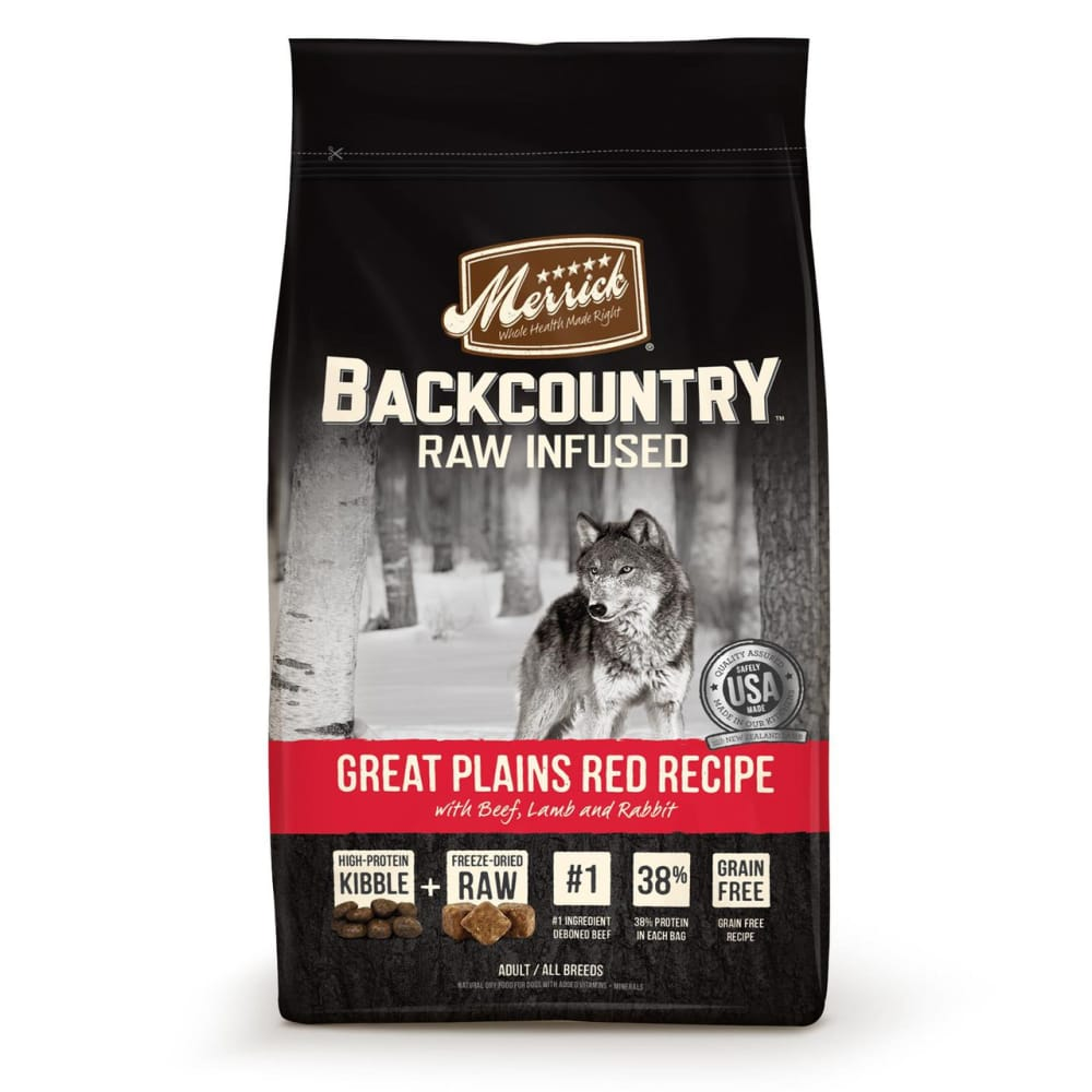 Merrick - Backcountry Raw Infused Great Plains Red Recipe Grain-Free Dry Dog Food