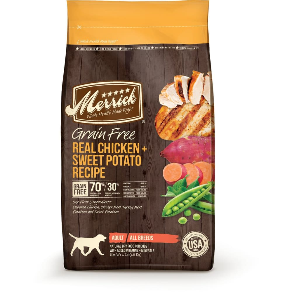 Merrick - Real Chicken & Sweet Potato Recipe Grain-Free Dry Dog Food