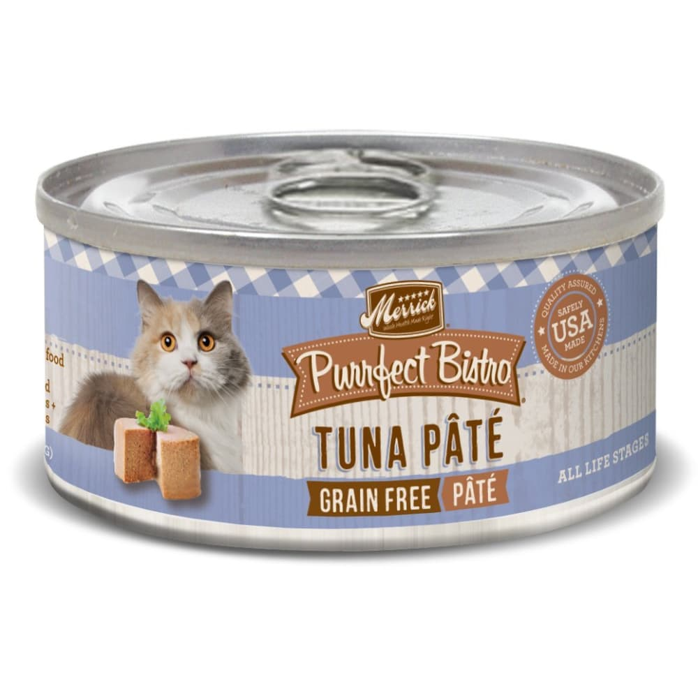 Merrick - Purrfect Bistro Tuna Pate Grain-Free Canned Cat Food