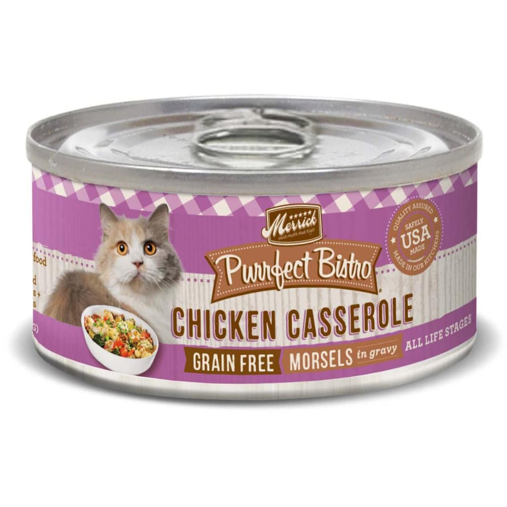 Merrick - Purrfect Bistro Chicken Casserole Grain-Free Canned Cat Food