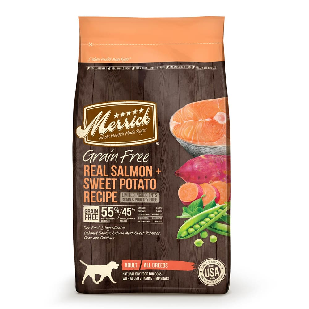 Merrick - Real Salmon & Sweet Potato Recipe Grain-Free Dry Dog Food