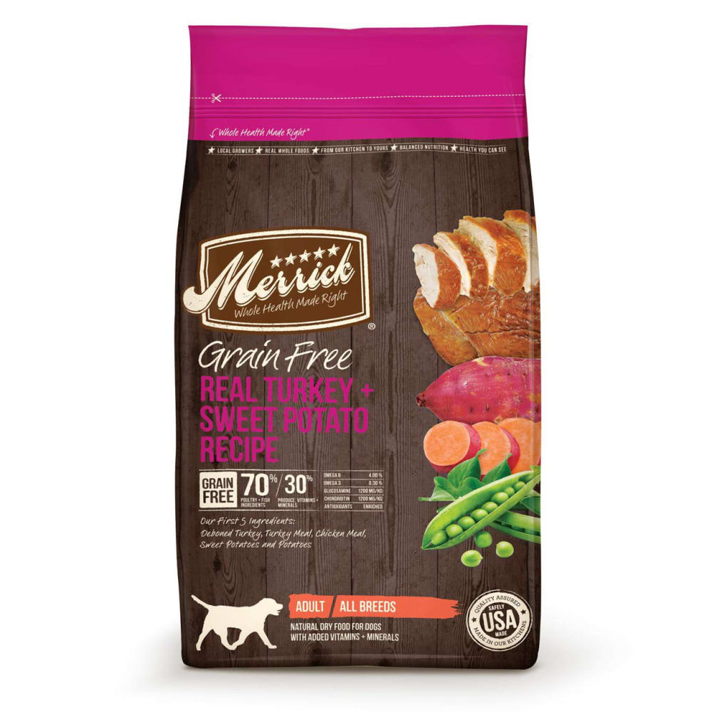 Merrick - Real Turkey & Sweet Potato Grain-Free Dry Dog Food
