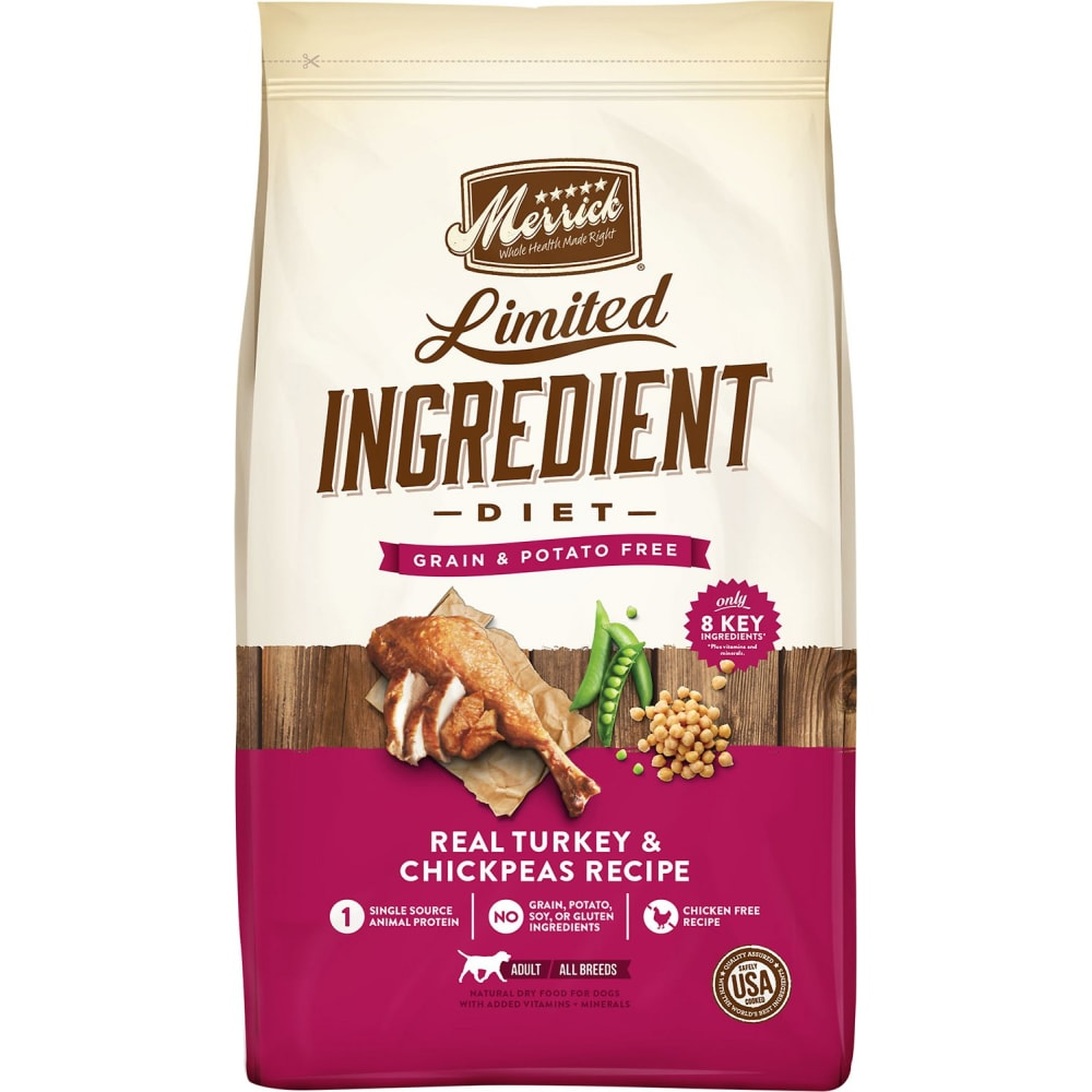 Merrick - Limited Ingredient Diet Real Turkey & Sweet Potato Recipe Grain-Free Dry Dog Food