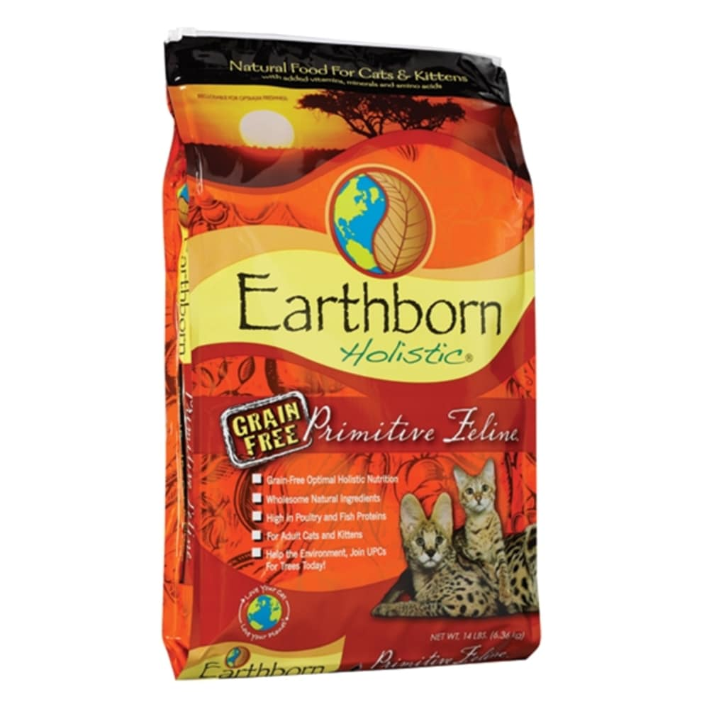 Earthborn - Primitive Feline Grain-Free Dry Cat Food, 14lb