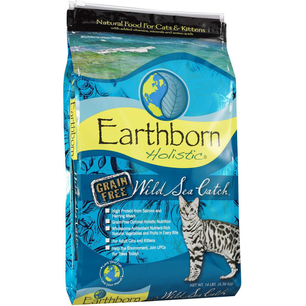 Earthborn - Wild Sea Catch Grain-Free Dry Cat Food, 14lb