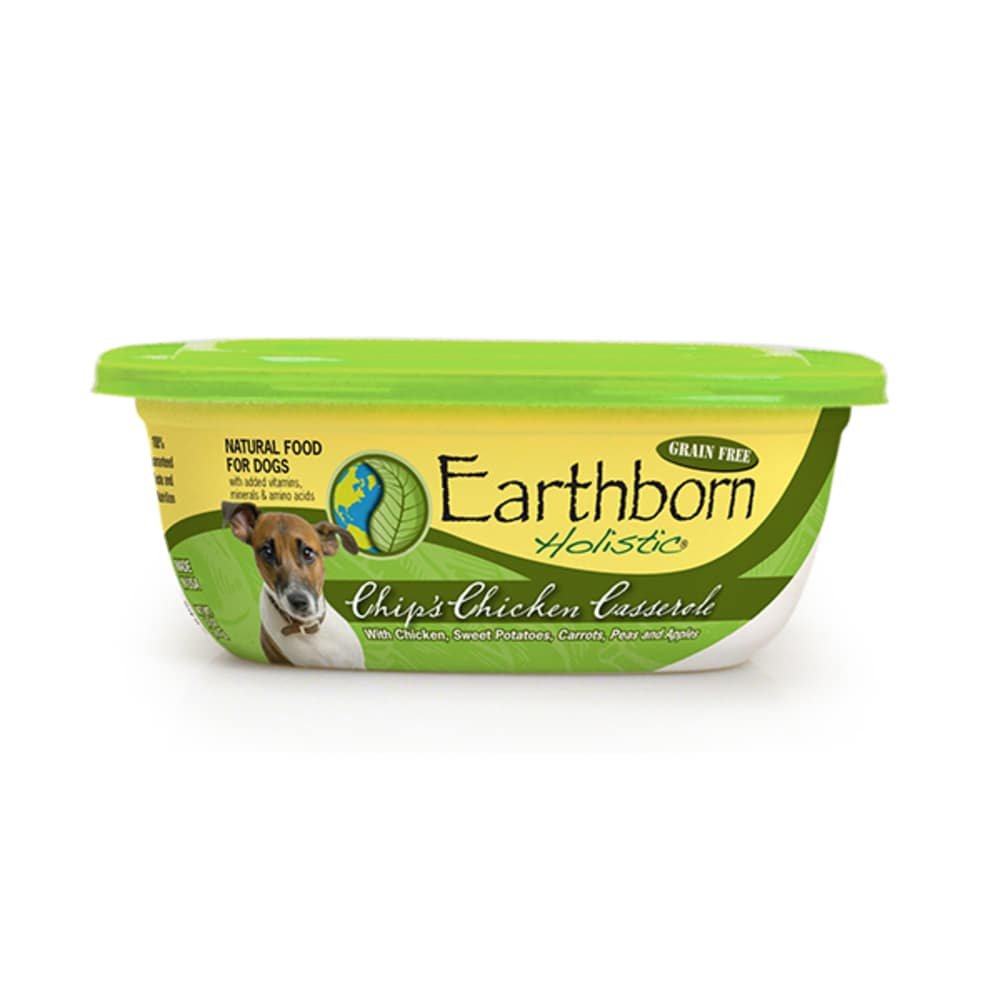 Earthborn - Chip's Chicken Casserole Stew Grain-Free Dog Food Pouch, 8oz