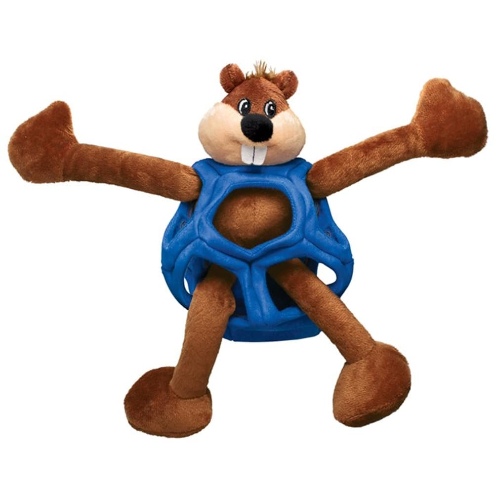 Kong - Puzzlements Beaver Dog Toy