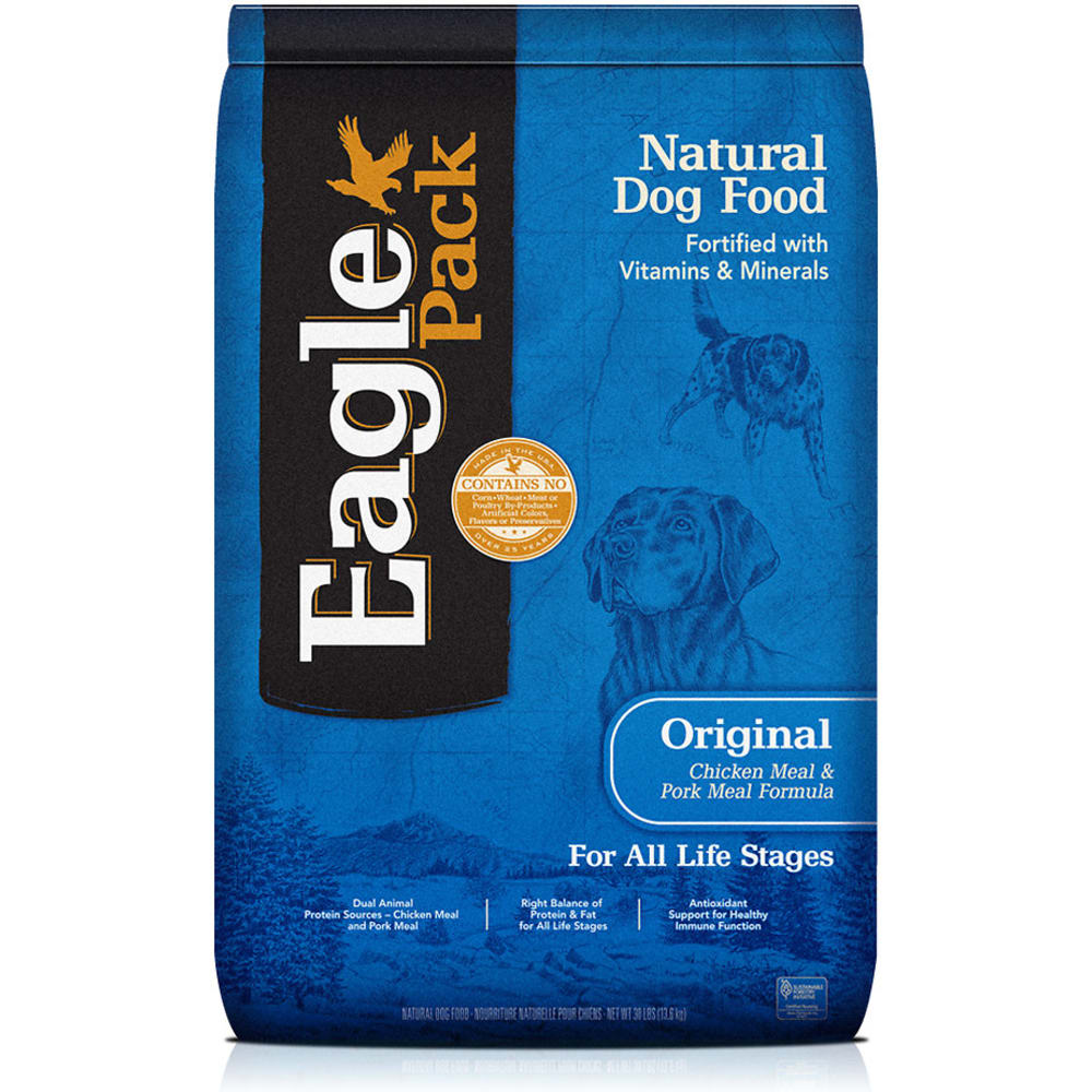 Eagle Pack - Original Chicken Meal & Pork Meal Formula Dry Dog Food, 30lb