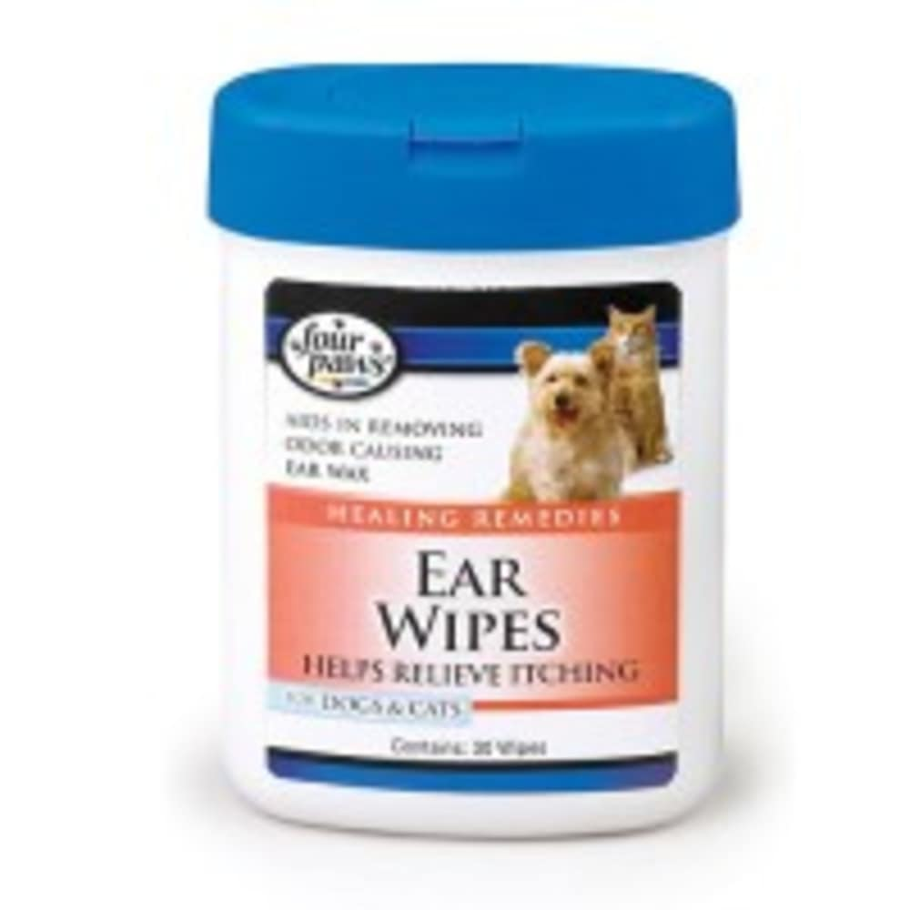 Four Paws - Healing Remedies Itch Relief Ear Wipes, 25 Count