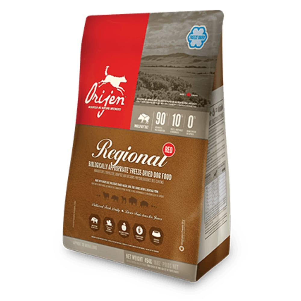 Orijen - Regional Red Grain-Free Freeze-Dried Dog Food
