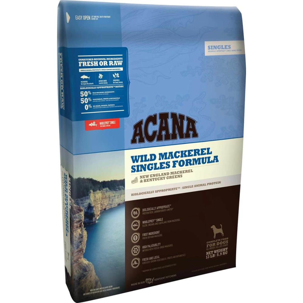 Acana - Wild Mackerel Singles Formula Grain-Free Dry Dog Food