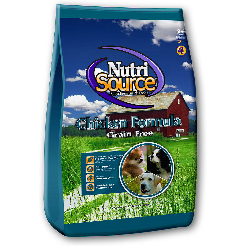 NutriSource - Chicken & Pea Grain-Free Dry Dog Food