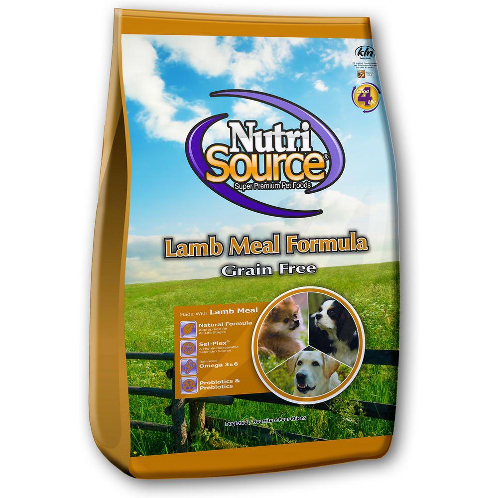 dog food with grain